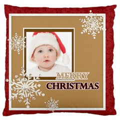 Xmas By Betty   Large Flano Cushion Case (two Sides)   Xqsvylun9c8k   Www Artscow Com Front