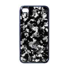 Shades Of Gray  And Black Oils #1979 Apple Iphone 4 Case (black) by Khoncepts