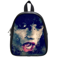 Abstract Grunge Jessie J School Bag (small) by OCDesignss