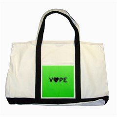 Vape Heart Two Toned Tote Bag by OCDesignss