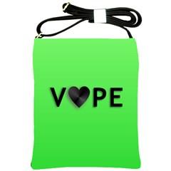 Vape Heart Shoulder Sling Bag by OCDesignss