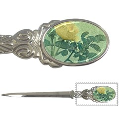Yellow Rose Vintage Style  Letter Opener by dflcprints