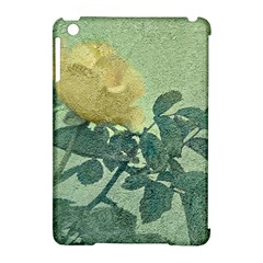 Yellow Rose Vintage Style  Apple Ipad Mini Hardshell Case (compatible With Smart Cover) by dflcprints