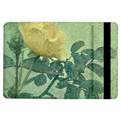 Yellow Rose Vintage Style  Apple Ipad Air Flip Case by dflcprints