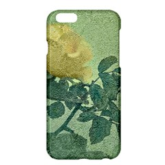 Yellow Rose Vintage Style  Apple Iphone 6 Plus Hardshell Case by dflcprints