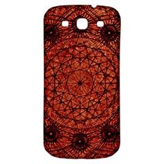 Grunge Style Geometric Mandala Samsung Galaxy S3 S Iii Classic Hardshell Back Case by dflcprints
