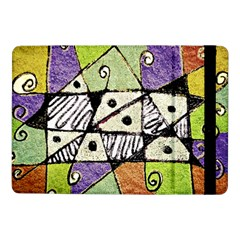 Multicolored Tribal Print Abstract Art Samsung Galaxy Tab Pro 10 1  Flip Case by dflcprints