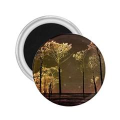 Fantasy Landscape 2 25  Button Magnet by dflcprints