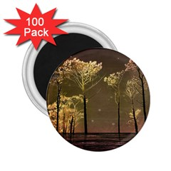 Fantasy Landscape 2 25  Button Magnet (100 Pack) by dflcprints