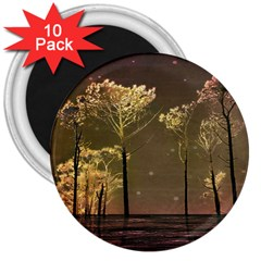 Fantasy Landscape 3  Button Magnet (10 Pack) by dflcprints