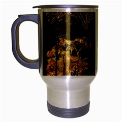 Fantasy Landscape Travel Mug (silver Gray) by dflcprints