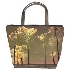 Fantasy Landscape Bucket Handbag by dflcprints