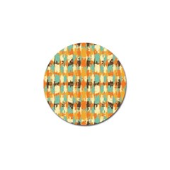 Shredded Abstract Background Golf Ball Marker by LalyLauraFLM