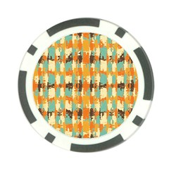 Shredded Abstract Background Poker Chip Card Guard (10 Pack) by LalyLauraFLM