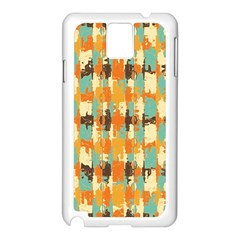 Shredded Abstract Background Samsung Galaxy Note 3 N9005 Case (white) by LalyLauraFLM