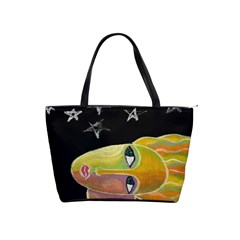 Stars Abstract Art Large Handbag  by paintedpurses