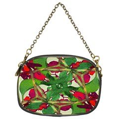 Floral Print Colorful Pattern Chain Purse (one Side) by dflcprints