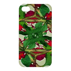 Floral Print Colorful Pattern Apple Iphone 4/4s Premium Hardshell Case by dflcprints
