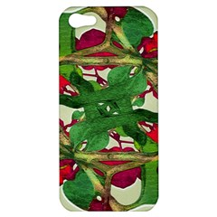 Floral Print Colorful Pattern Apple Iphone 5 Hardshell Case by dflcprints