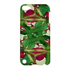 Floral Print Colorful Pattern Apple Ipod Touch 5 Hardshell Case by dflcprints