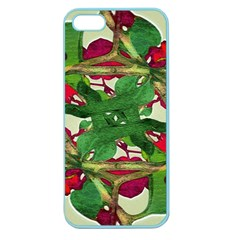 Floral Print Colorful Pattern Apple Seamless Iphone 5 Case (color) by dflcprints