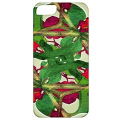 Floral Print Colorful Pattern Apple Iphone 5 Classic Hardshell Case by dflcprints