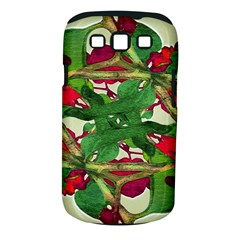 Floral Print Colorful Pattern Samsung Galaxy S Iii Classic Hardshell Case (pc+silicone) by dflcprints
