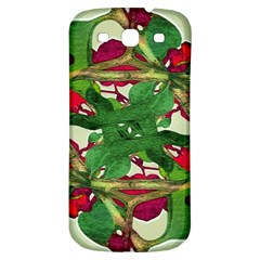 Floral Print Colorful Pattern Samsung Galaxy S3 S Iii Classic Hardshell Back Case by dflcprints