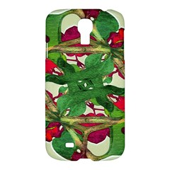 Floral Print Colorful Pattern Samsung Galaxy S4 I9500/i9505 Hardshell Case by dflcprints