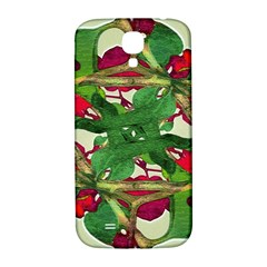 Floral Print Colorful Pattern Samsung Galaxy S4 I9500/i9505  Hardshell Back Case by dflcprints