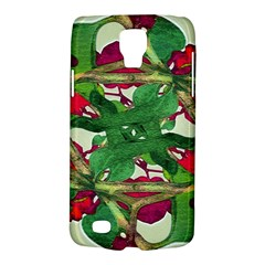 Floral Print Colorful Pattern Samsung Galaxy S4 Active (i9295) Hardshell Case by dflcprints