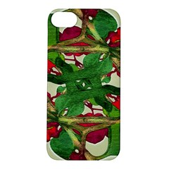 Floral Print Colorful Pattern Apple Iphone 5s Hardshell Case by dflcprints
