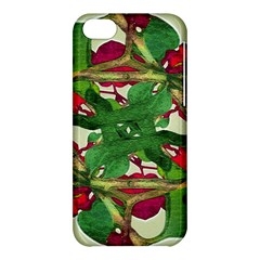 Floral Print Colorful Pattern Apple Iphone 5c Hardshell Case by dflcprints