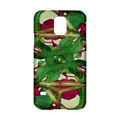 Floral Print Colorful Pattern Samsung Galaxy S5 Hardshell Case  by dflcprints