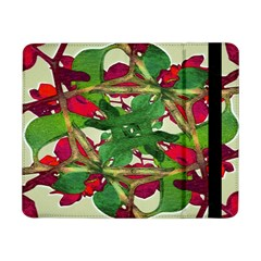 Floral Print Colorful Pattern Samsung Galaxy Tab Pro 8.4  Flip Case by dflcprints