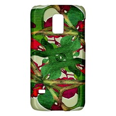 Floral Print Colorful Pattern Samsung Galaxy S5 Mini Hardshell Case  by dflcprints