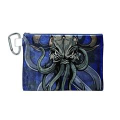 Kraken Canvas Cosmetic Bag (Medium) by TheGreatGiftShop