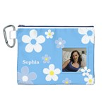 Daisy Canvas Cosmetic Bag (Large)