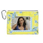Sunny Canvas Cosmetic Bag (Large)