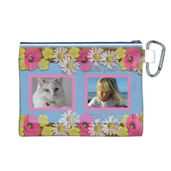 My Little Princess Canvas Cosmetic Bag (large) By Deborah   Canvas Cosmetic Bag (large)   2d90n1vw46a5   Www Artscow Com Back