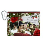 Our UK Wedding Canvas Cosmetic Bag (Large)