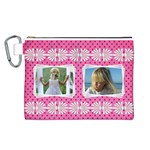 Little Lady Canvas Cosmetic Bag (Large)