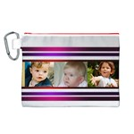 My Pretty Stripes Canvas Cosmetic Bag (Large)