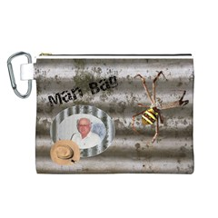 Man Bag 3 Canvas Cosmetic Bag (large) By Deborah   Canvas Cosmetic Bag (large)   Uxglqohu1id7   Www Artscow Com Front