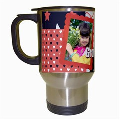 Kids By Kids   Travel Mug (white)   Bmtysyq3ttrw   Www Artscow Com Left