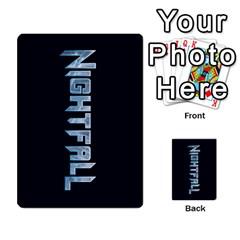 Nightfall Promos Deck 1 By Micah Liebert   Multi Purpose Cards (rectangle)   98m68dmhqi9j   Www Artscow Com Back 12