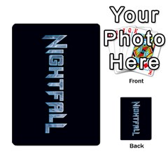 Nightfall Promos Deck 2 By Micah Liebert   Multi Purpose Cards (rectangle)   K8aby4l2qbuq   Www Artscow Com Back 8