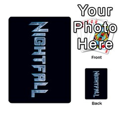 Nightfall Promos Deck 2 By Micah Liebert   Multi Purpose Cards (rectangle)   K8aby4l2qbuq   Www Artscow Com Back 37