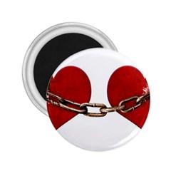 Unbreakable Love Concept 2 25  Button Magnet by dflcprints