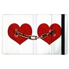 Unbreakable Love Concept Apple Ipad 2 Flip Case by dflcprints